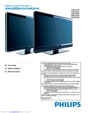 philips 52pfl5704d f7 manuals rh manualslib com Philips Universal Remote Code Manual Philips Television