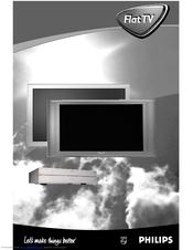 Philips FlatTV Matchline 42PF9965 Manuals