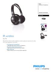 instructions for philips wireless headphones