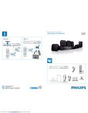 philips hts3181 manuals rh manualslib com Philips Wireless Home Theater System Philips HTS3541 Home Theater System