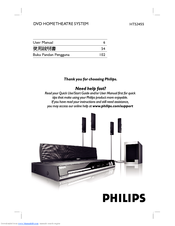 Philips HTS3450/77 Home Theater 64 BIT