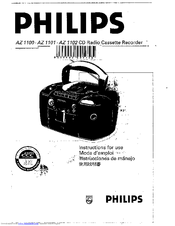 Philips AZ1101/00 Instruction Manual