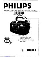 Philips AZ1101/00 Instruction Manual