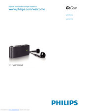 Philips SA1105/55 MP3 Player Drivers for Windows 7