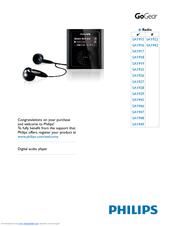 Philips SA1948/37B MP3 Player Driver