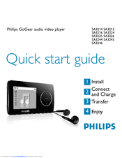 philips gogear sa3245 02 manuals rh manualslib com Philips GoGear ManualDownload Philips GoGear Vibe Manual