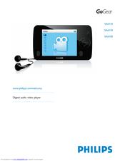 Philips SA4425/37 GoGear Flash Audio Player Driver Download (2019)