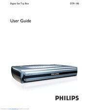 philips dtr 100 manuals rh manualslib com Philips Electronics Manuals Philips Universal Remote User Manual