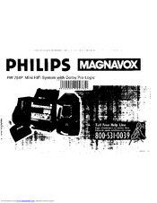 Philips Magnavox FW 754P Owner's Manual