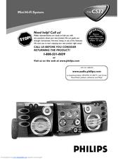 Philips FW-C577/37 User Manual