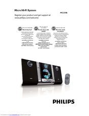 philips mc235b 37 manuals rh manualslib com Philips Electronics Manuals CL-010 Philips Instruction Manuals