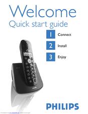 philips cd 145 quick start manual pdf download rh manualslib com  manual telefone philips cd140 portugues