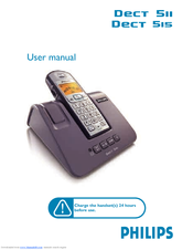 Philips DECT5111L/29 User Manual