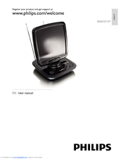 Philips SDV6122T/27 User Manual