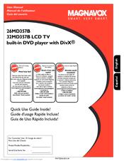 magnavox 32md357b user manual pdf download rh manualslib com Magnavox 15MF605T 17 Manual Magnavox Flat Screen TV Manual