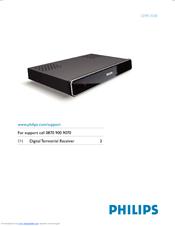 philips dtr 2530 user manual pdf download rh manualslib com Philips Flat TV Manual Philips TV Manual Flat Screen