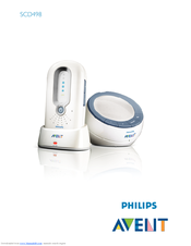 Philips avent avent dect scd520/00 manuals.