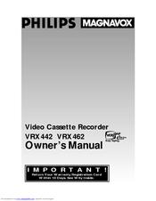 philips magnavox vcr 462 owner s manual pdf download rh manualslib com Magnavox DVD VCR Manual Magnavox ZV427MG9 Service Manual