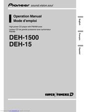 [WQZT_9871]  PIONEER DEH-1500 OPERATION MANUAL Pdf Download | ManualsLib | Deh 1500 Wiring Diagram |  | ManualsLib