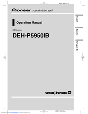 Pioneer Super Tuner IIID DEH-P5950IB Operation Manual