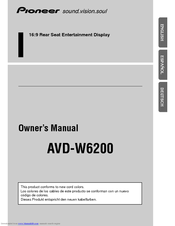 Pioneer AVD-W6200 Owner's Manual
