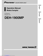 pioneer deh 1900mp radio cd manuals rh manualslib com pioneer deh-1900mp manual pdf Pioneer Deh 1900MP Faceplate