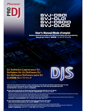 Pioneer SVJ-DL01D Pro DJ Software Manual