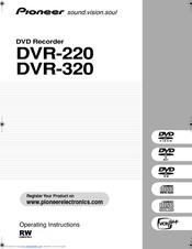pioneer dvr 220 operating instructions manual pdf download rh manualslib com Annke DVR User Manuals H 264 DVR System Manuals