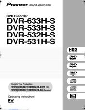 pioneer dvr 531h s manuals rh manualslib com IC Realtime DVR Xfinity DVR Manual