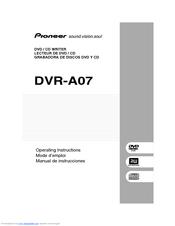 Pioneer DVR-A07 64 BIT Driver