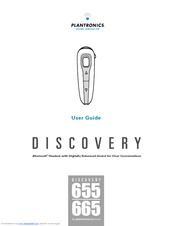 plantronics discovery 665 user manual pdf download rh manualslib com Plantronics Bluetooth Headset Plantronics Instruction Manual