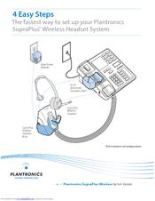 plantronics cs50 headset instruction manual
