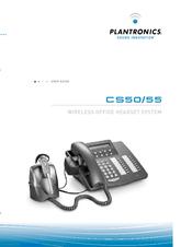 Plantronics Cs55 User Manual Pdf Download Manualslib