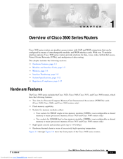 Cisco 3600 Series Owner's Manual