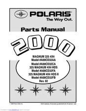 Polaris Magnum 325 4x4 A00cd32aa Manuals Manualslib