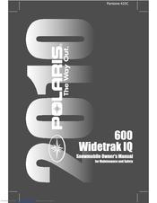 POLARIS 600 IQ WIDETRAK OWNER'S MANUAL Pdf Download