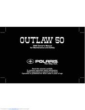 polaris 50 outlaw manuals rh manualslib com 2006 Polaris Sportsman 90 Troubleshooting Polaris 90 ATV