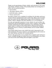 polaris sportsman 400 h o owner s manual pdf download
