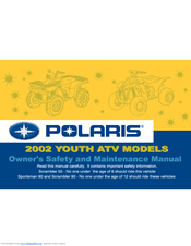 Polaris Sportsman 90 Manuals Manualslib