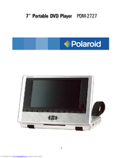 polaroid pdm 2727 manuals rh manualslib com  polaroid dvd player pdm 0722 manual