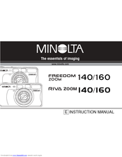 Minolta Freedom Zoom 160 Instruction Manual
