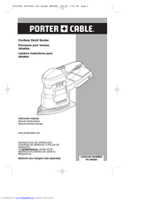 Porter-Cable PC1800DS Instruction Manual