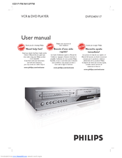 philips dvd vcr player dvp3340v manual best setting instruction rh ourk9 co Sony DVD VCR Combo Zenith DVD VCR