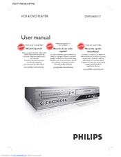 philips dvp3340v manuals rh manualslib com Samsung DVD VCR Combo Troubleshooting DVD VCR Players Walmart