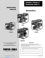 Porter Cable Bs600 Instruction Manual Pdf Download Manualslib