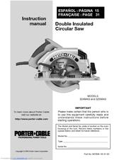 Porter Cable 325mag Instruction Manual Pdf Download Manualslib