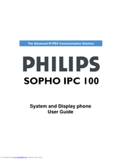 Philips SOPHO IPC 100 User Manual