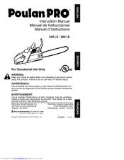 poulan pro 220 le manuals rh manualslib com poulan pro 220 le manual poulan 220 pro chainsaw manual