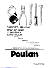 poulan 14 inch chainsaw manual