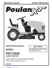 Poulan Pro Xt Pxt12530 Manuals
